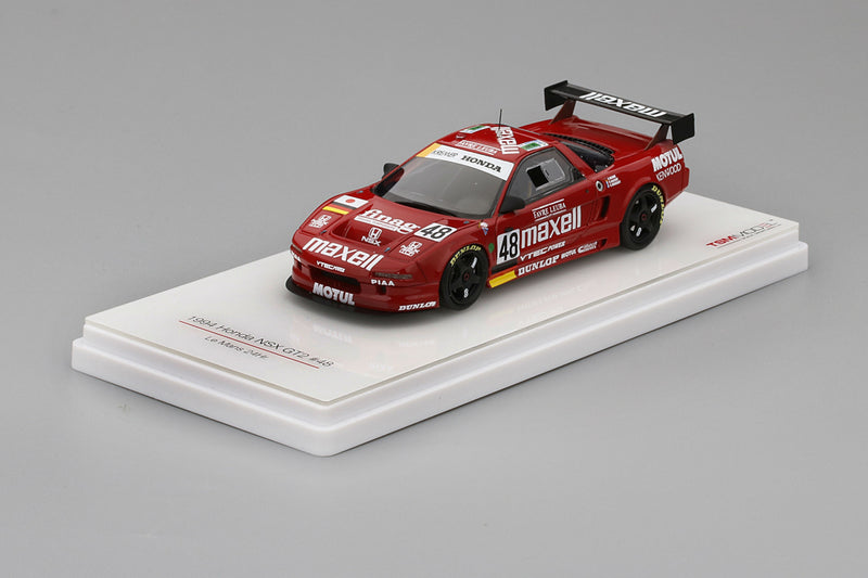 Honda NSX GT2 (1994 24 Hours of Le Mans) | 1:43 Scale Model Car by TSM | Display Base