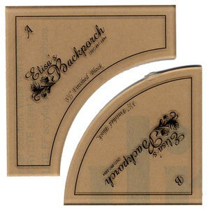 3 1/2in Small Paths Acrylic Template