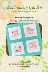 Sewing Sayings Set