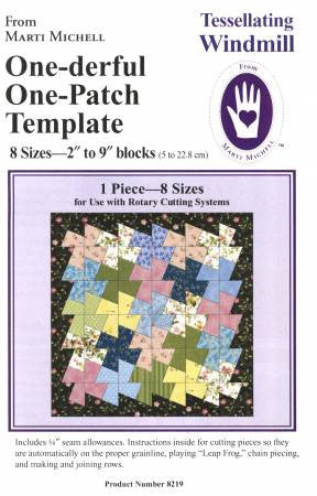 One-Derful One Patch Tessellating Windmill Template