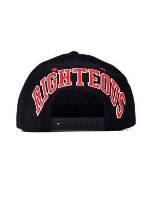 "FTP ""Righteous"" Blockhead Black/Red"