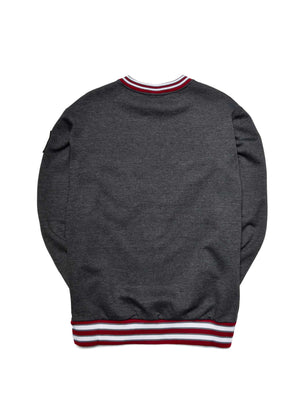 Morehouse College Classic '91 Crewneck Charcoal Grey