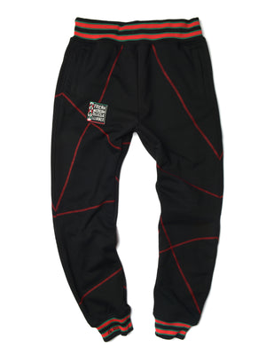 "FTP Original '92 ""Frankenstein"" Stitched Sweatpants Black / Red"