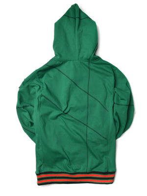 "FTP AACA Original '92 ""Frankenstein"" Stitched Hoodie Kelly Green/Black"