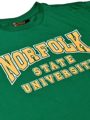 Norfolk State Classic Crewneck T-Shirt Kelly Green