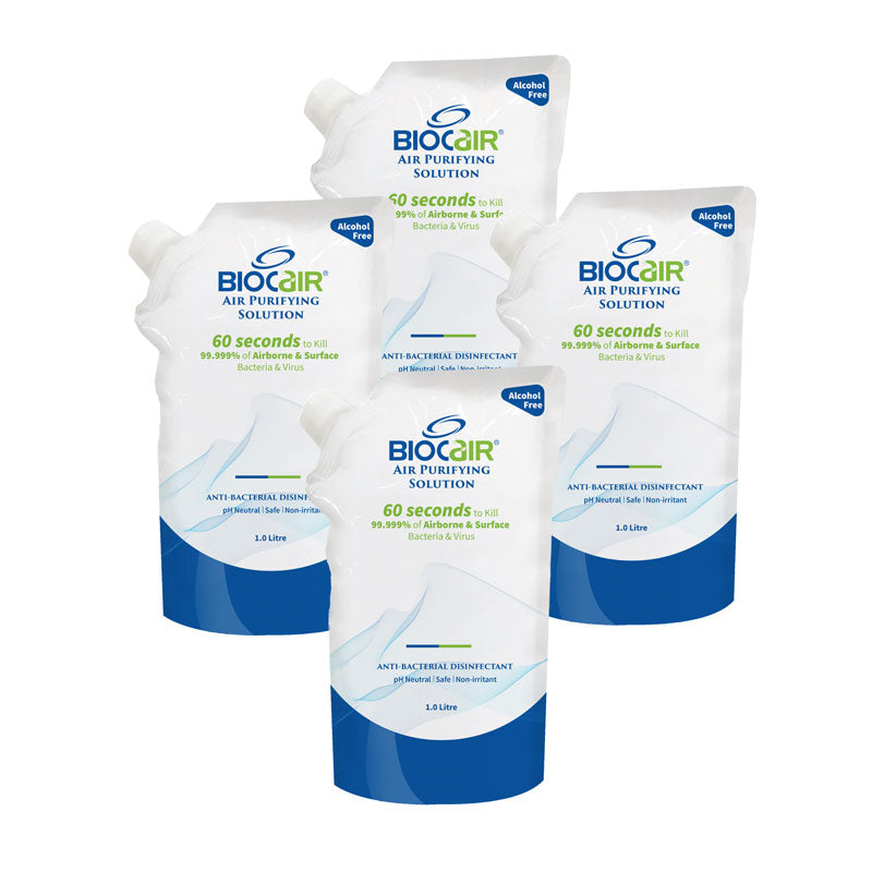 BioCair BC-65 4-Pack Air Purifying Solition