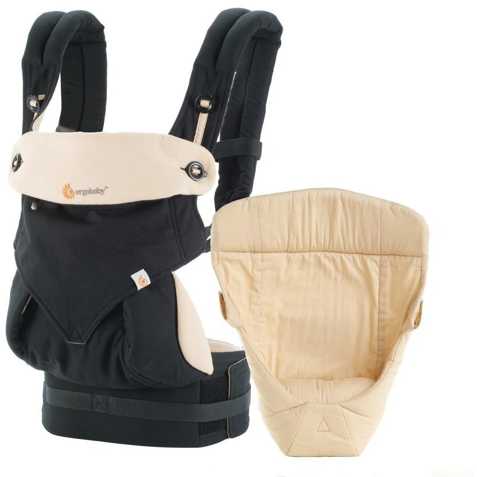 Ergobaby Bundle of Joy 360 Collection Baby Carrier with Easy Snug Infant Insert