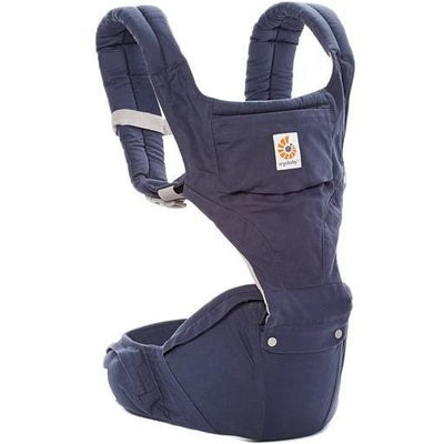 ergobaby hipseat 6 position baby carrier twilight blue
