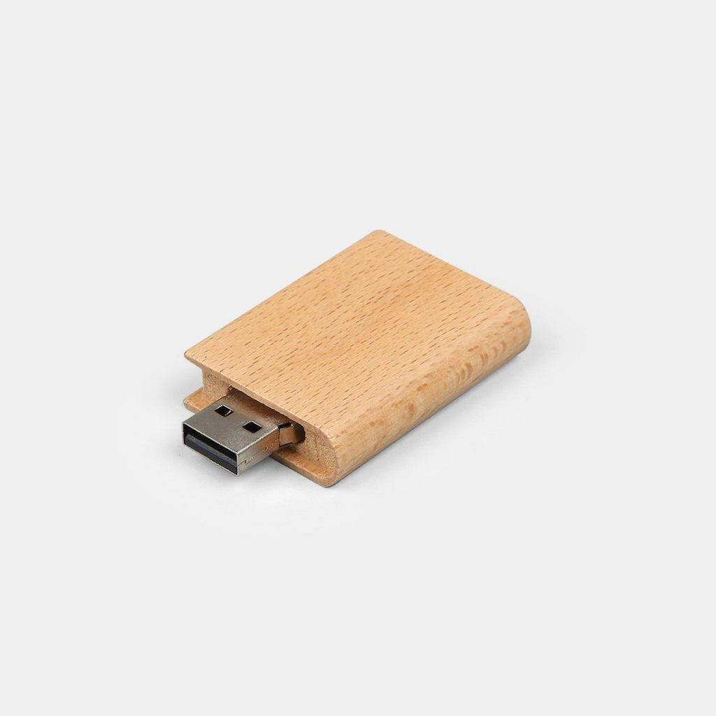 Wooden Book Pen Drive