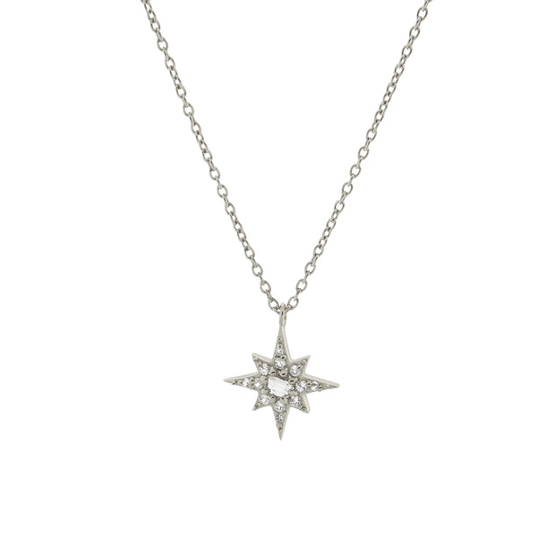 Starburst Necklace. Sterling Silver - MONARC CONCIERGE