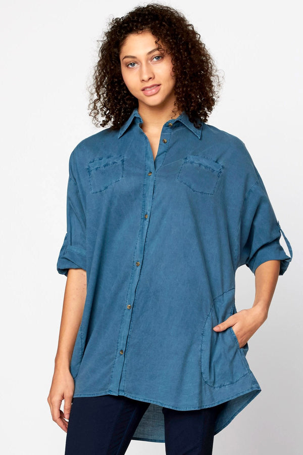 Ashlie Button Down