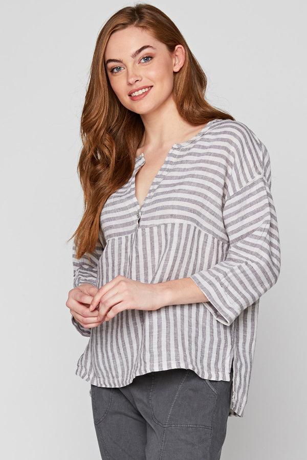 The Striped Blouse