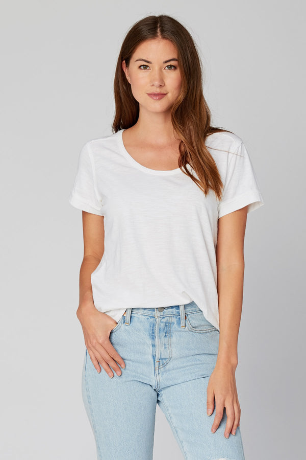 Organic Scoop Neck Tee