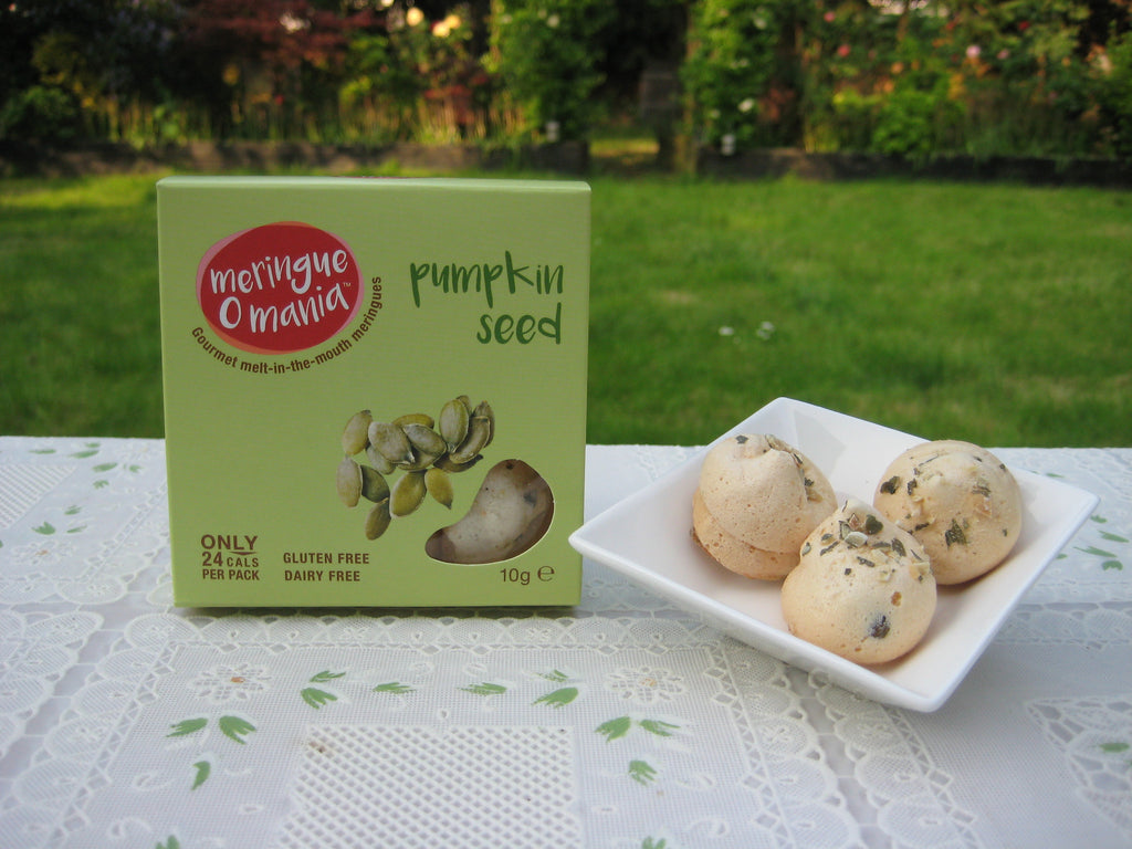 Pumpkin Seed Gourmet Bitesize Meringues - Small Box