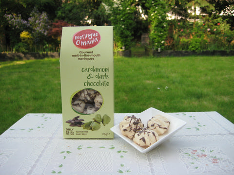 Cardamom & Dark Chocolate Gourmet Bitesize Meringues - Large Box