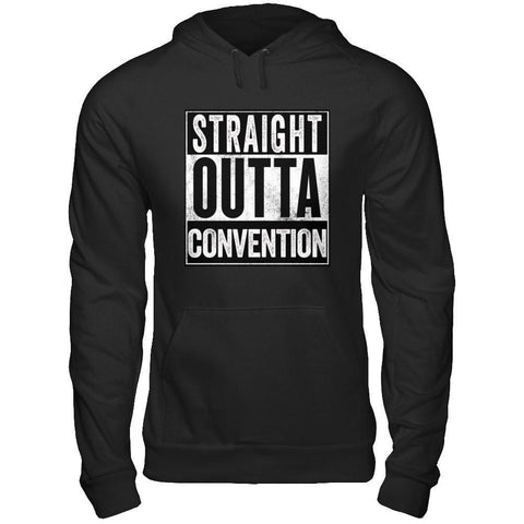 STRAIGHT OUTTA CONVENTION - Unisex Pullover Hoodie