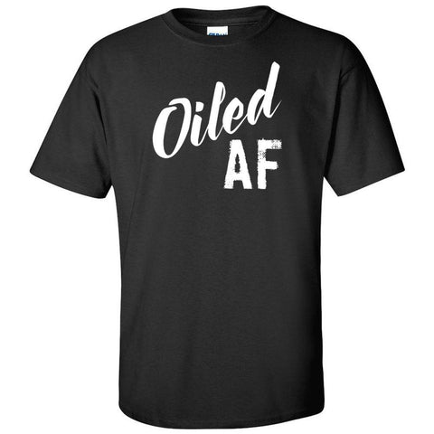 Oiled AF - Ultra Cotton Crew | 12 Colors