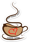 Coffee Lover Decal - Crab Terror Island