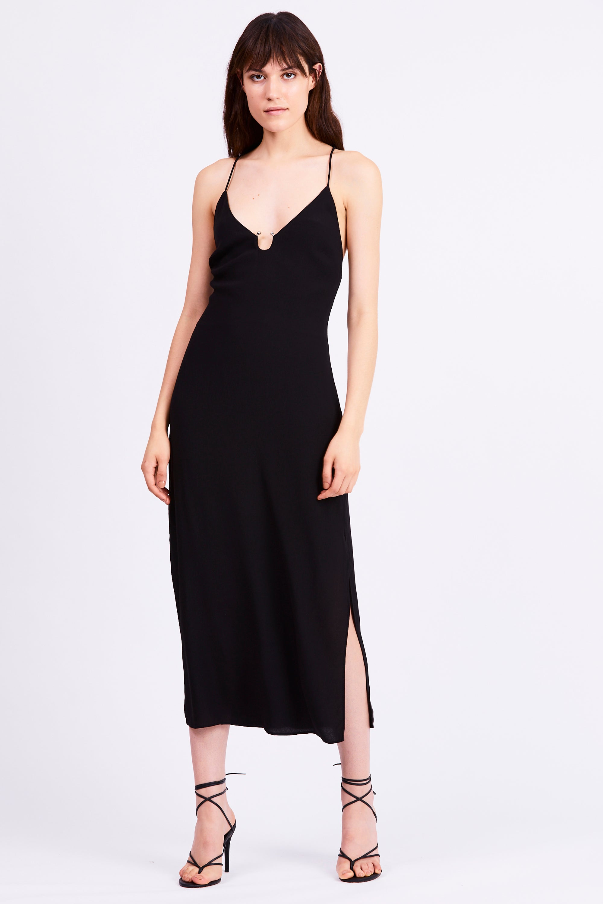 LUCID CAMI DRESS | BLACK