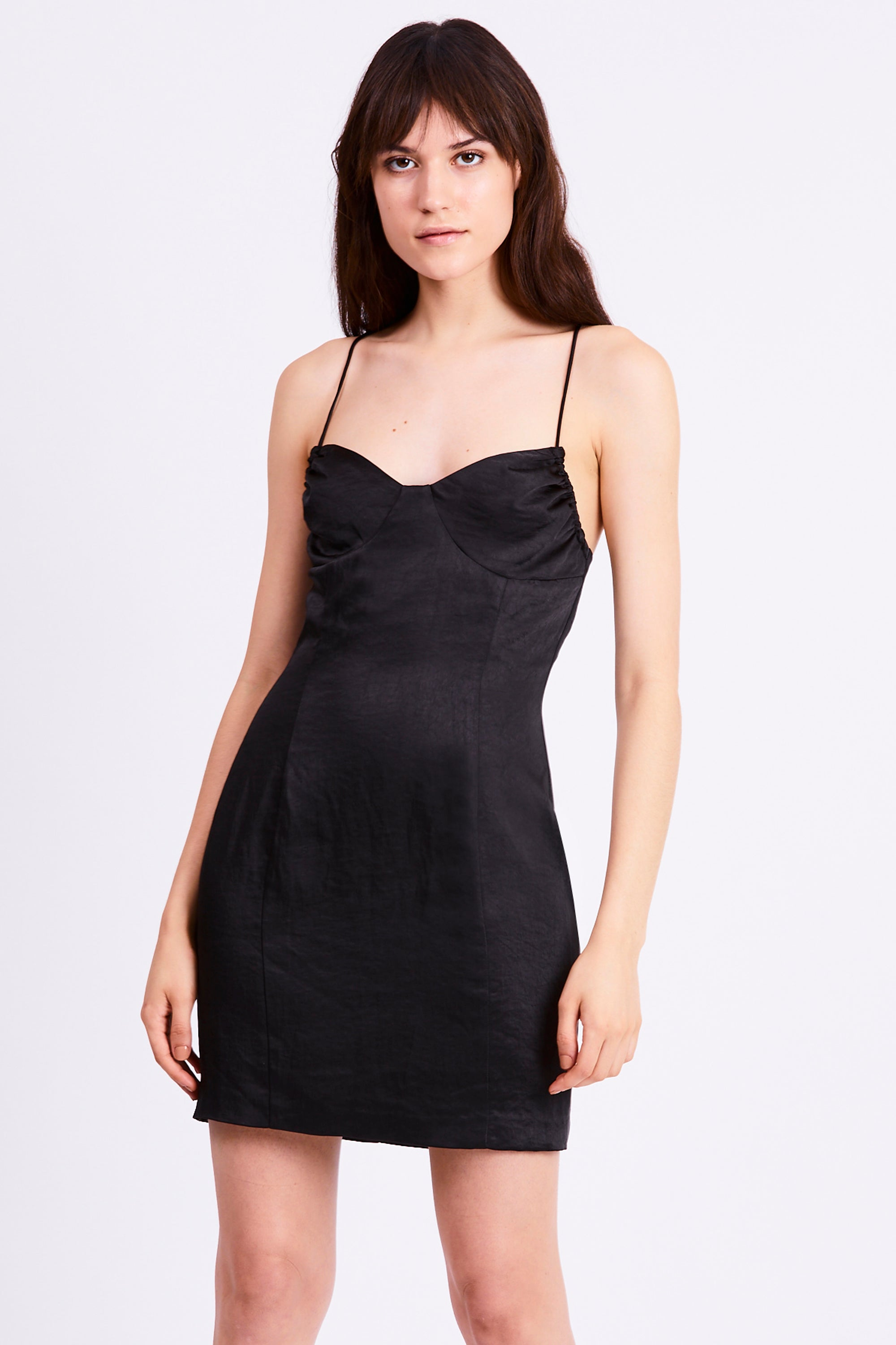 FINAL SAY MINI DRESS | BLACK