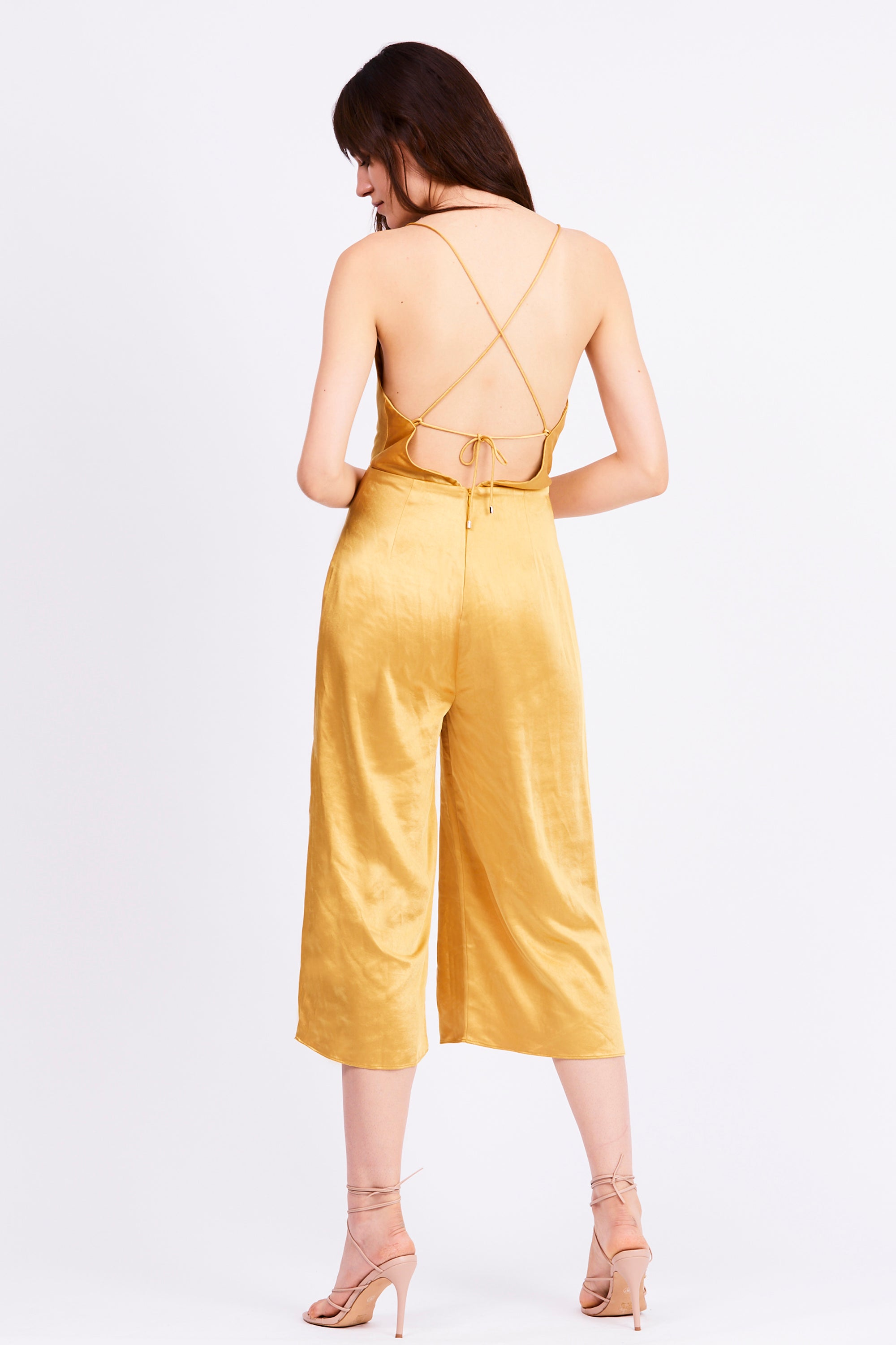 FINAL SAY BIAS JUMPSUIT | CANARY