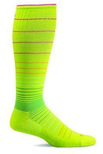 Women's Circulator | Graduated Compression Moderate 15-20mmHg SW1W Therapeutic Compression Socks Sockwell S/M Limelight MERINO WOOL/BAMBOO/NYLON/SPANDEX