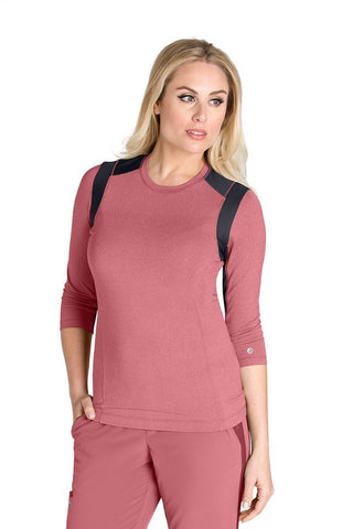 Barco One Wellness - Ladies Back Slit Detail Top BWT008