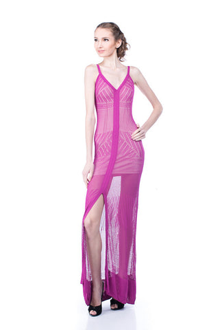 Buy: BEBE Stretch Knit Maxi Dress