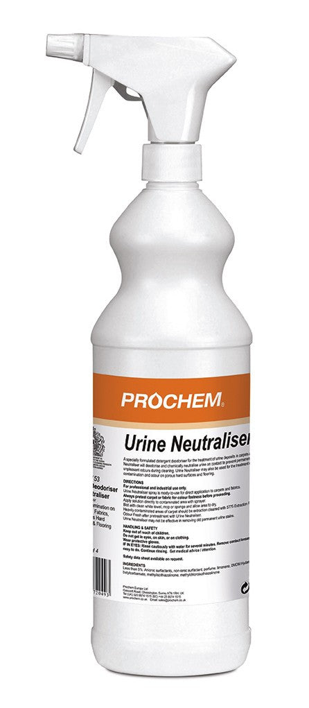 Prochem B153-01 Urine Neutraliser W/Spray  1L