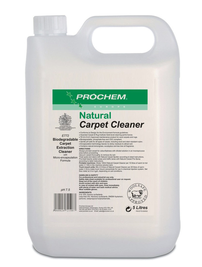 Prochem E772-05 Natural Carpet Cleaner  5L