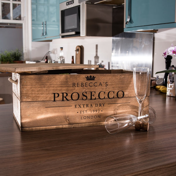 Prosecco Hamper with lid