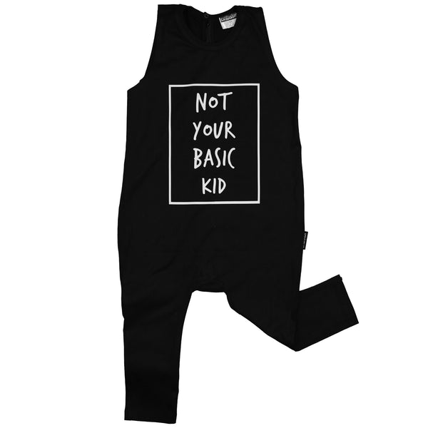 Not Your Basic Kid Sleeveless Harem Romper