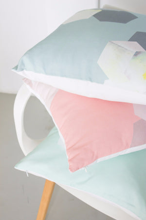 Rhubarb Custard Throw Pillow