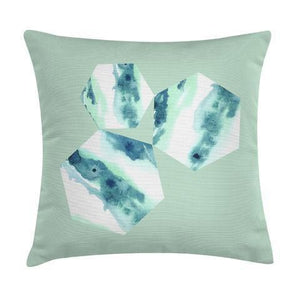 traedecor - Cassia Mint Throw Pillow