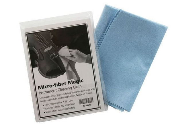 Microfiber violin polishing cloth