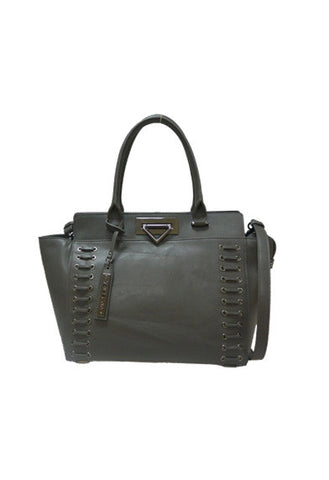 Amina Satchel In Charcoal