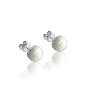 Golf Ball Stud Earrings