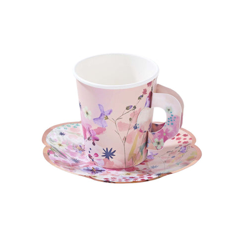 Blossom Girls Cup and Saucer Set