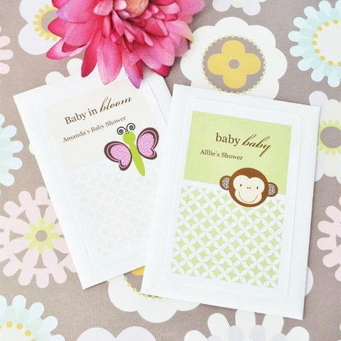 Baby Animal Personalized Seed Packets-Jubilee Favors