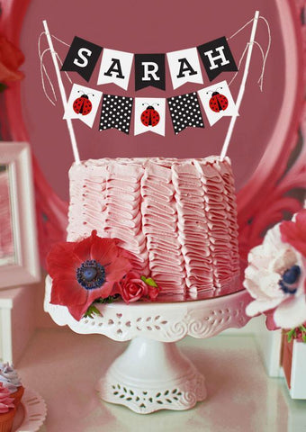Baby Shower Cake Bunting-Jubilee Favors