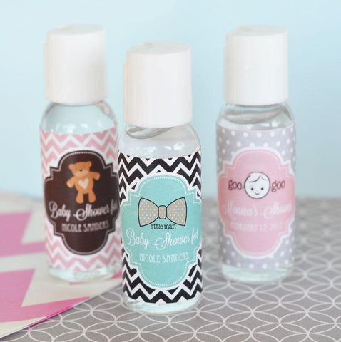 Baby Shower Personalized Hand Sanitizer-Jubilee Favors