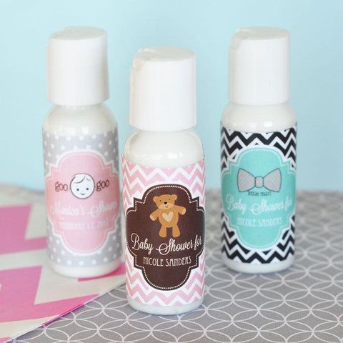Baby Shower Personalized Lotion-Jubilee Favors