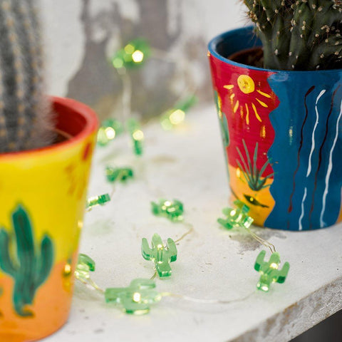 Cuban Fiesta Mini Cactus Lights-Jubilee Favors