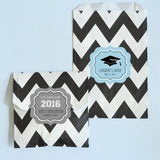 Graduation Personalized Goodie Bags (set of 12)-Jubilee Favors