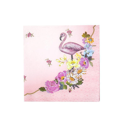 Truly Flamingo Cocktail Napkins-Jubilee Favors