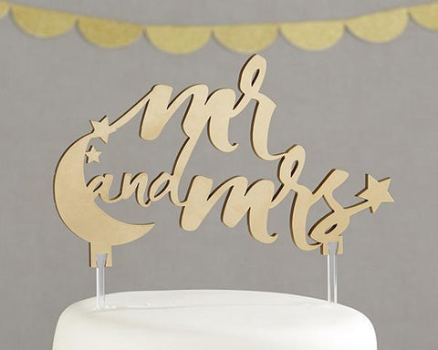 Under the Stars Mr. and Mrs. Cake Topper-Jubilee Favors