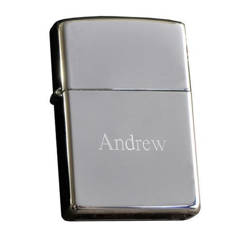 Zippo High Polish Chrome Lighter-Jubilee Favors