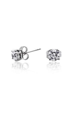 Zirconia Stud (Clear - 0.5) - FrejaDesigns