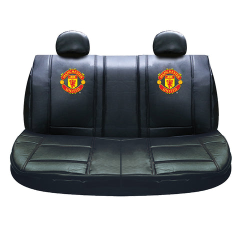 Man United rear seat cover black