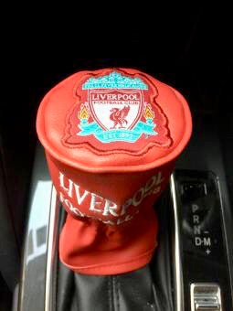 Liverpool Gear Knob Cover, PVC Edition
